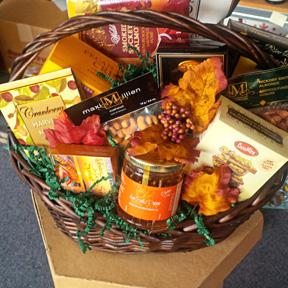 Colour Me Fall Gift Basket