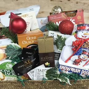 Big Bash Holiday Vancouver Gift Basket