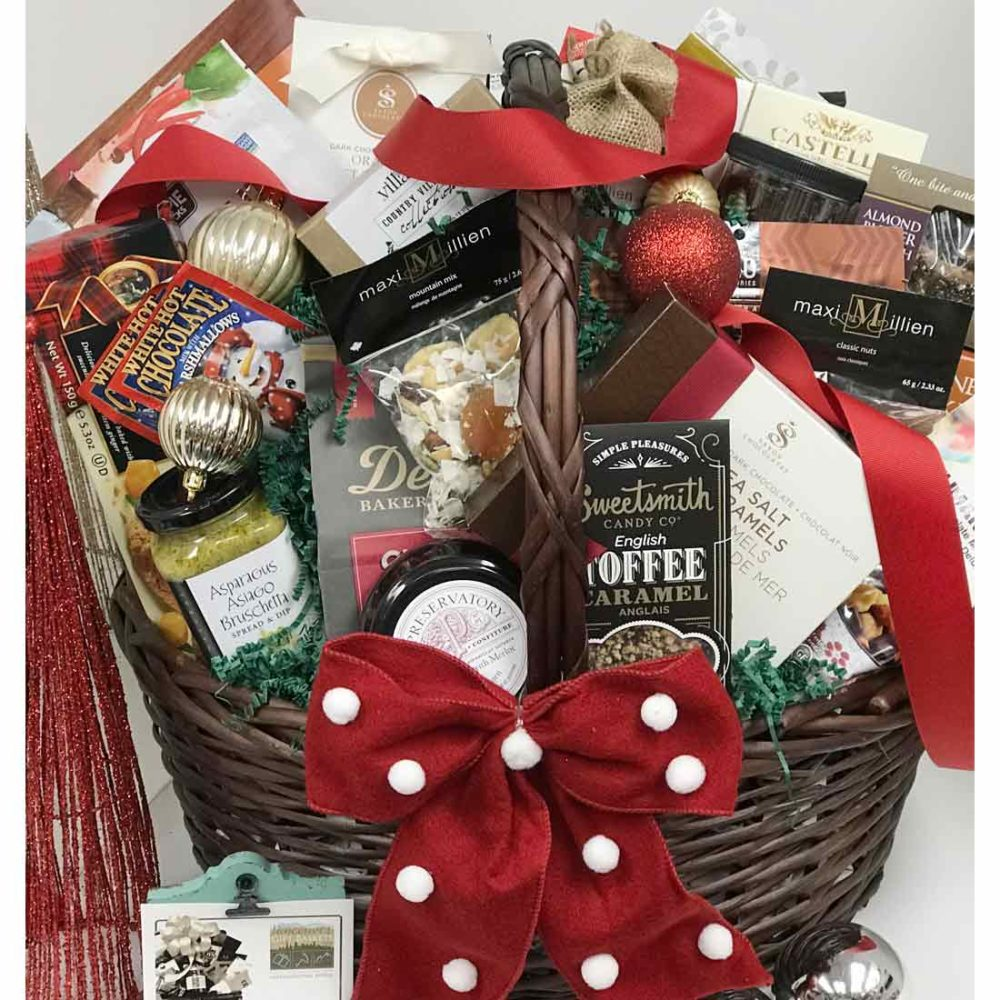 A Holiday For one & All Gift Basket - Vancouver Gift Baskets