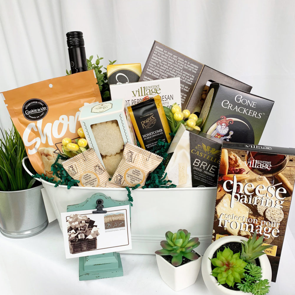 April Showers Wine Gift Basket from Vancouver Gift Baskets