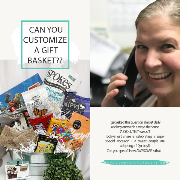 Can you customize a gift basket?