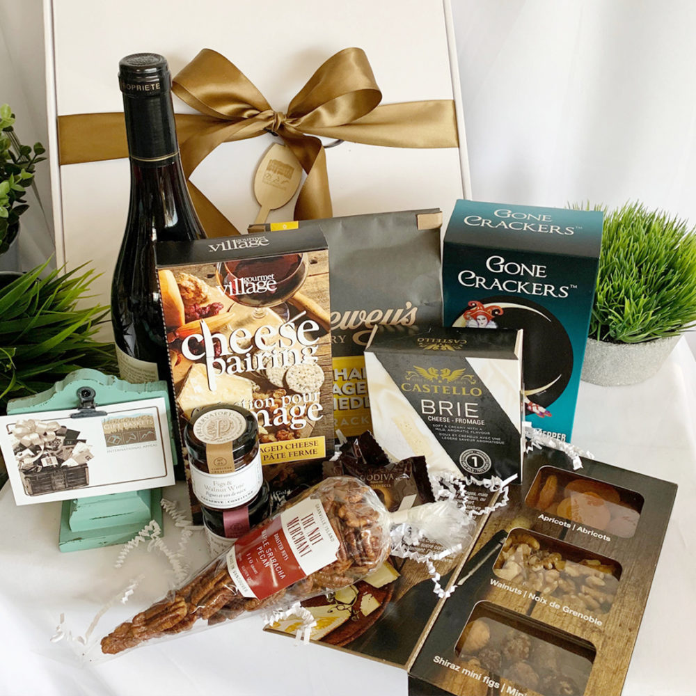 Wine & Cheese Pairing Gift Box - Vancouver Gift Baskets
