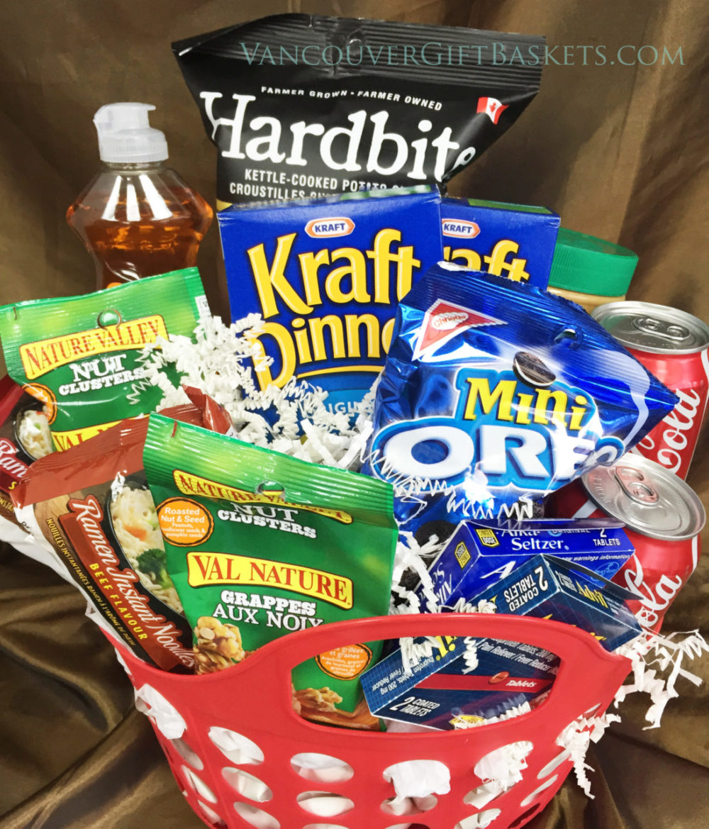 College Full Vancouver Gift Basket