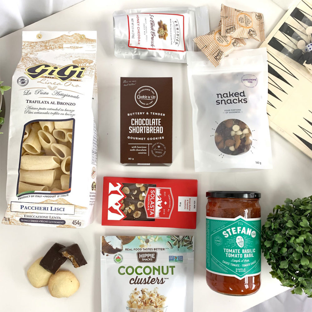 Covid Care Package at VancouverGiftBaskets.com
