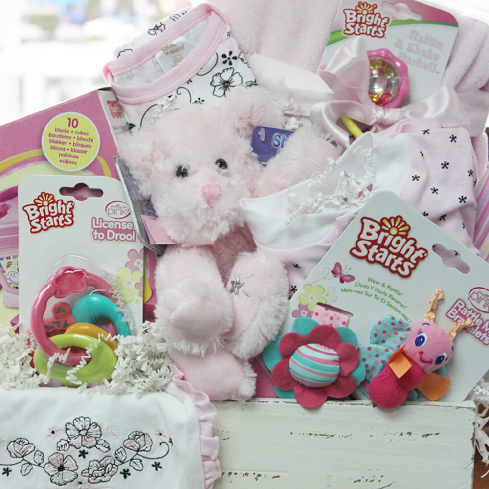 Sugar and Spice Baby Girl Vancouver Gift Baskets