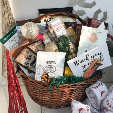 Deck the Halls Gift Basket by VancouverGiftBaskets.com
