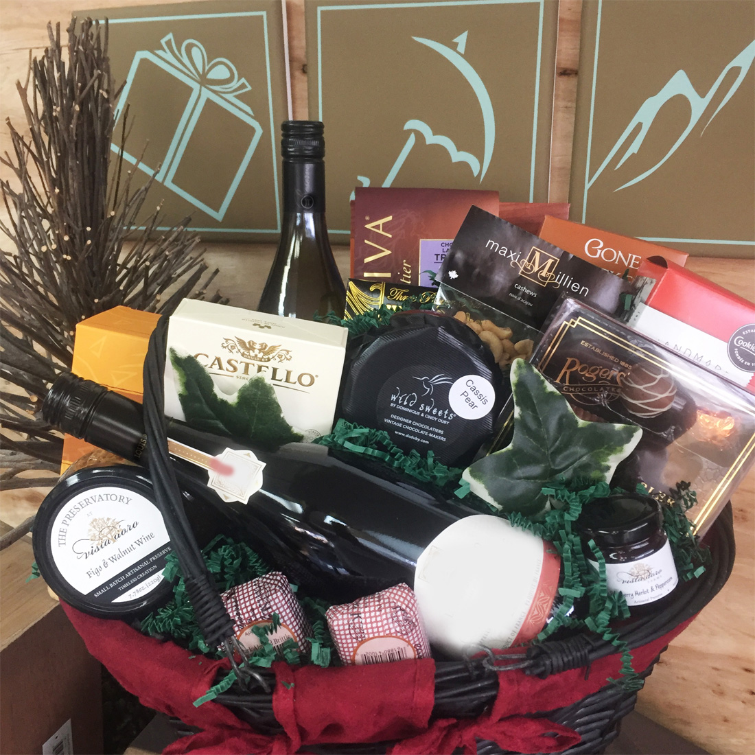 Executive Offerings Vancouver Gift Basket