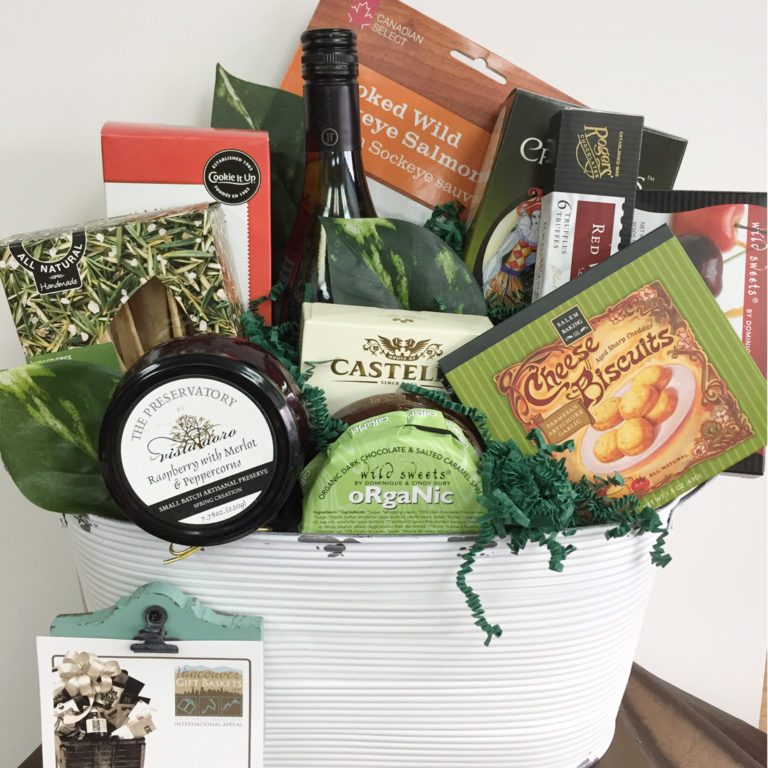 Executive Perks Vancouver Gift Basket