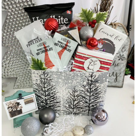 Frosted Holiday Box -Vancouver Gift Basket