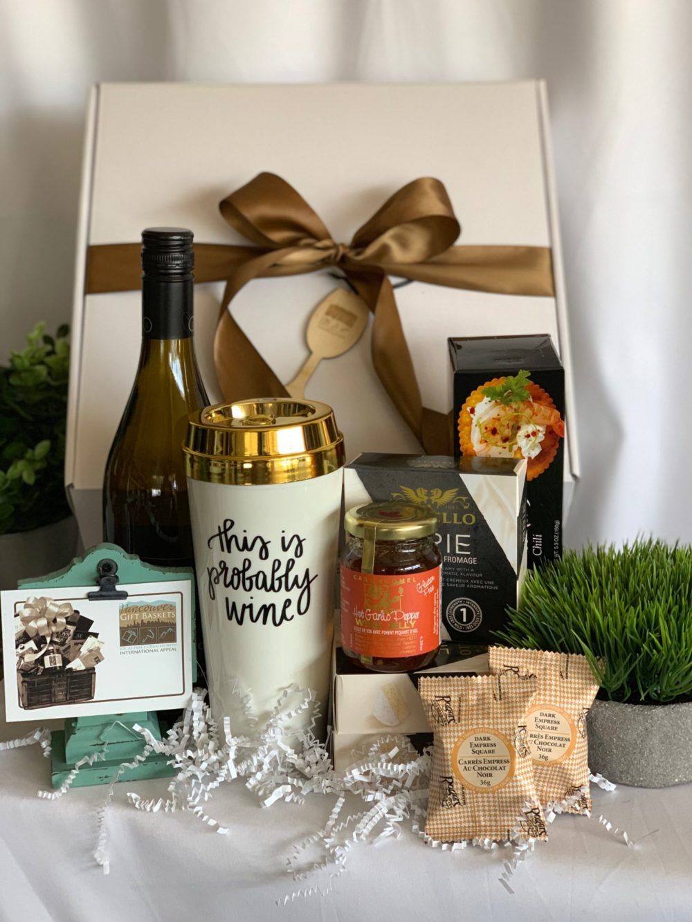Probably Wine in Here Gift Box - Vancouver Gift Baskets