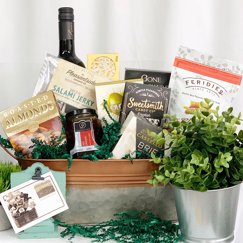 Gift Basket for a Knight in Shining Armour from Vancouver Gift Baskets