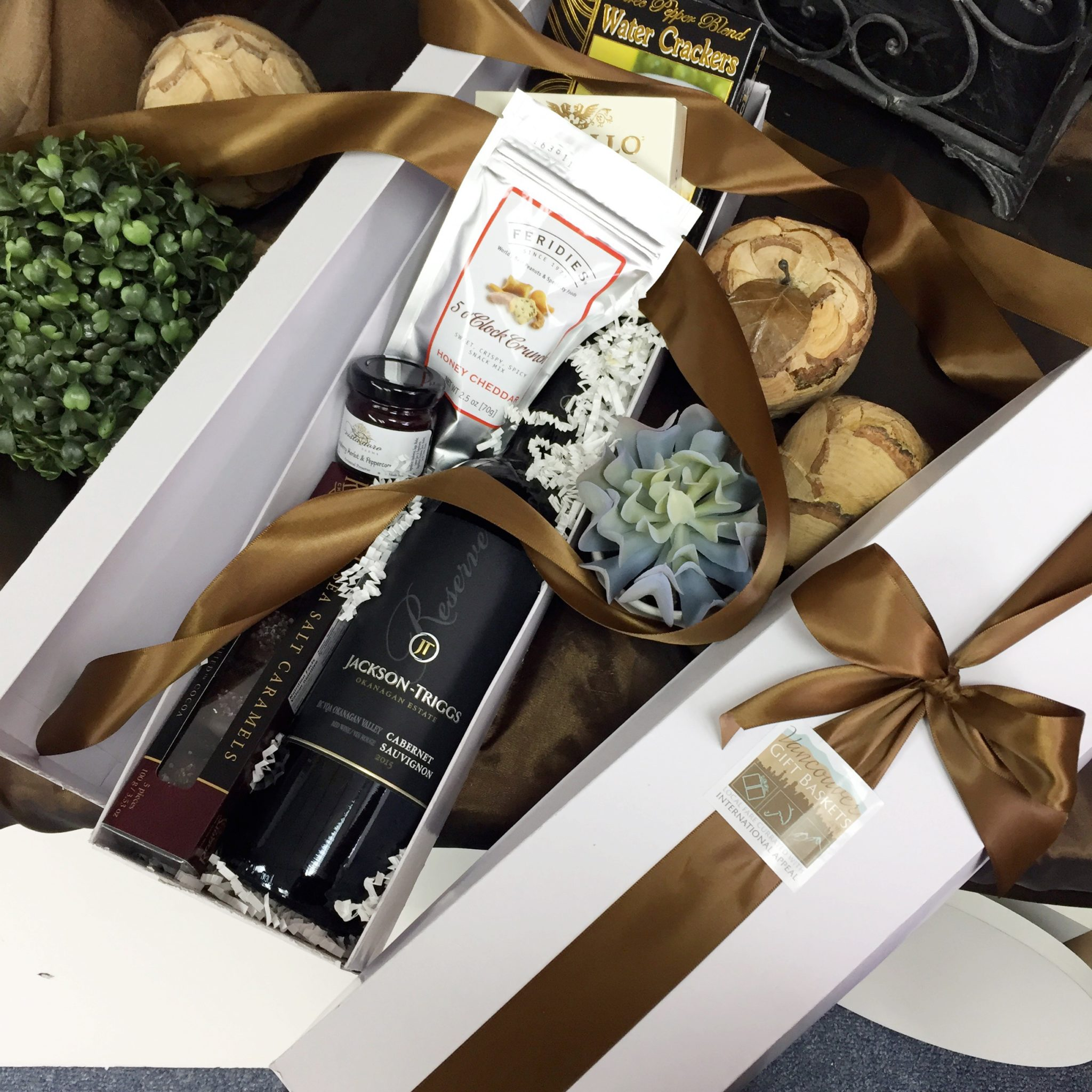 Wine O'Clock Gift Box Vancouver Gift Baskets