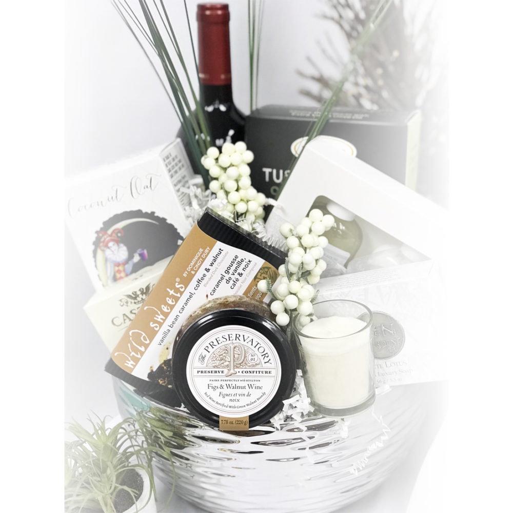 A Moment of Peace & Quiet Vancouver Gift Basket
