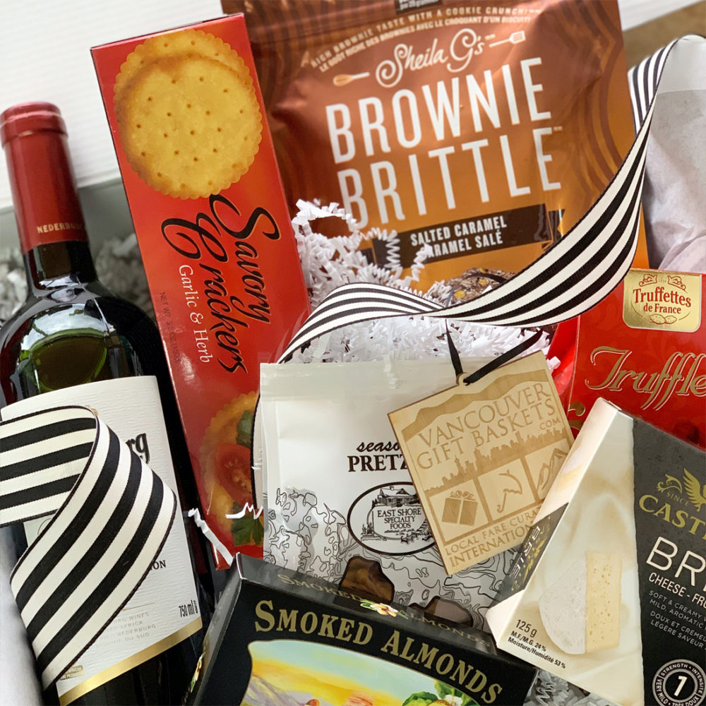 Simply Grateful Close-up - Vancouver Gift Baskets