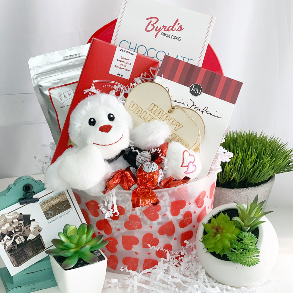 Valentine's Day Sweets Gift Basket