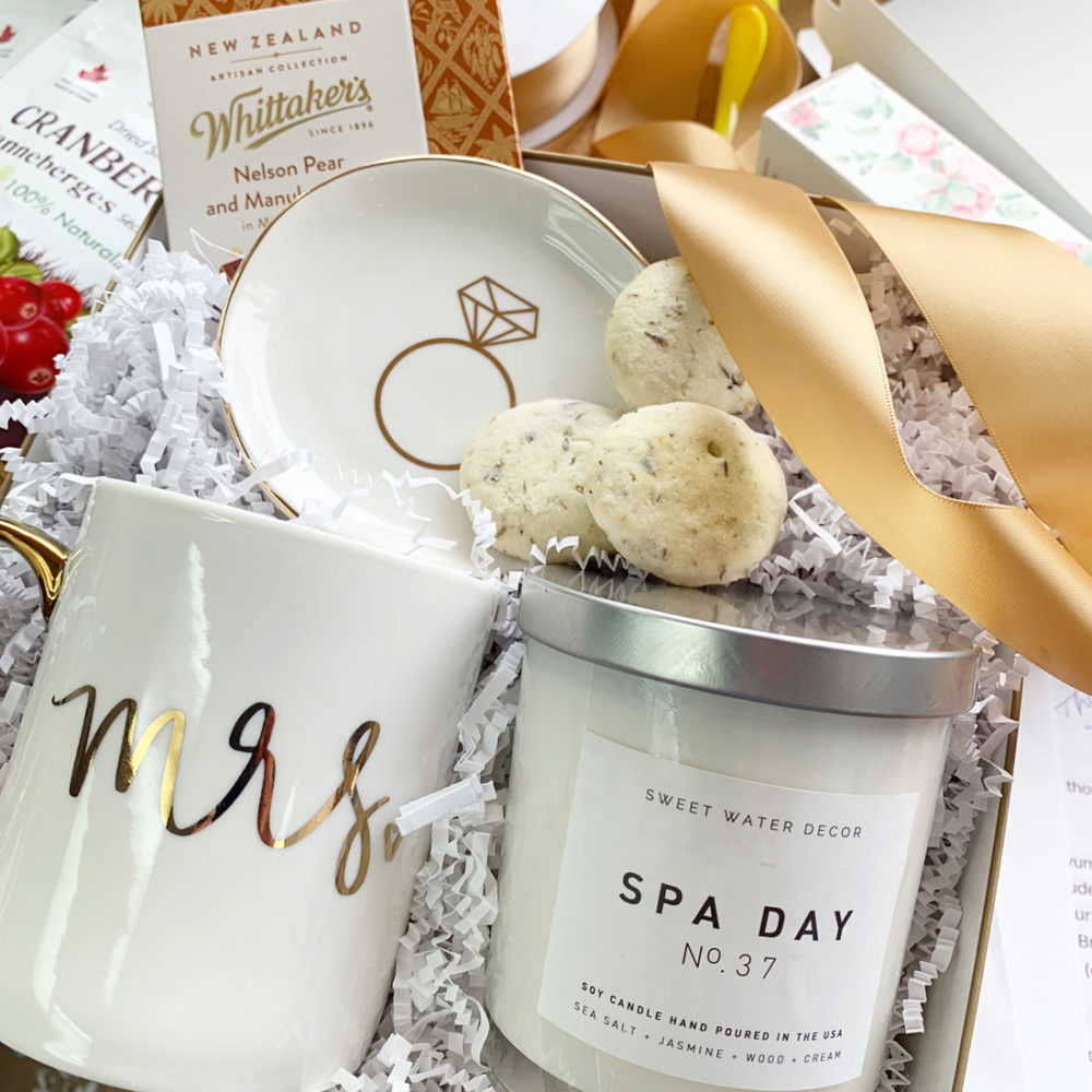The New Mrs Gift Box by Vancouver Gift Baskets