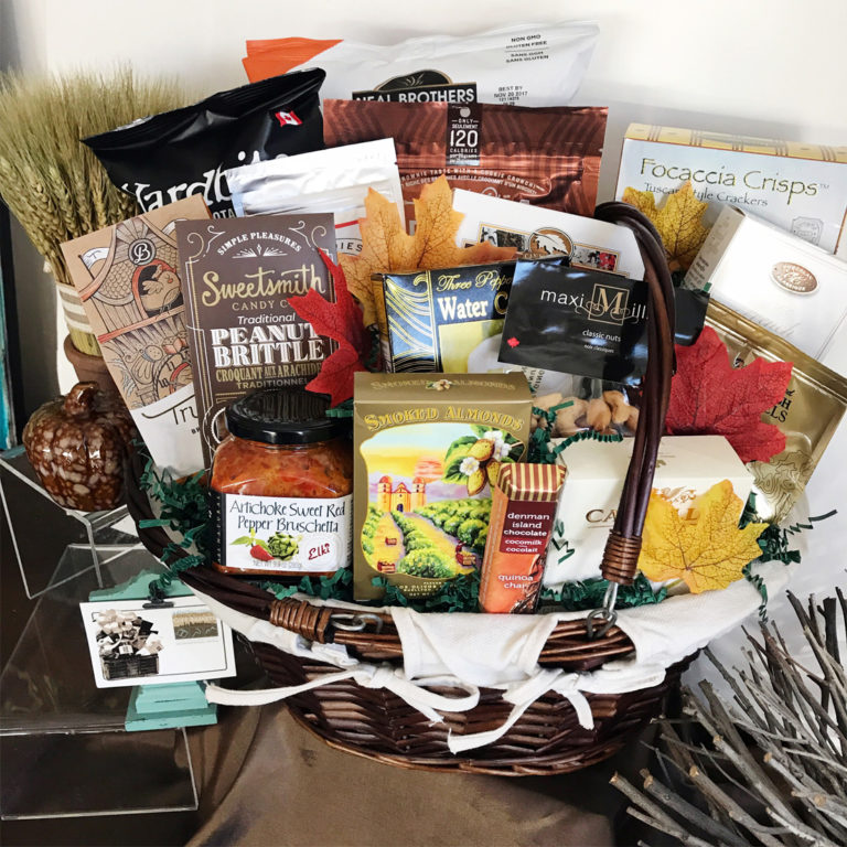 Gourmet Bountiful Harvest Vancouver Gift Baskets