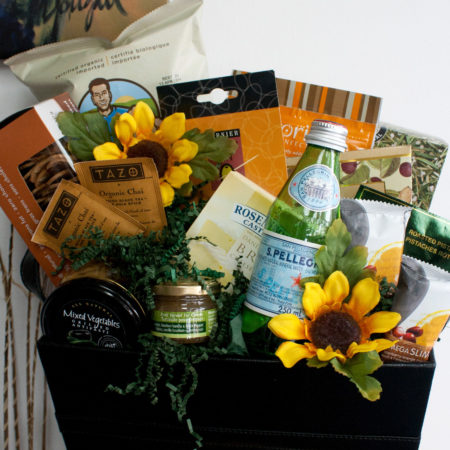 Good for you Feast Vancouver Gift Basket