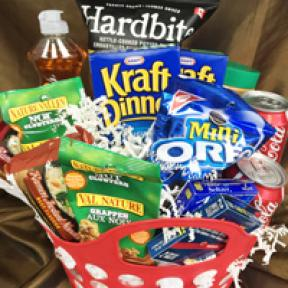 College/University Care Packages that say 'We'll miss you'